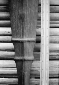 Kaumaile blade with ruler