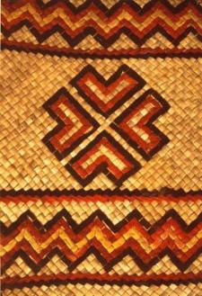 Epa mat with galegale decoration